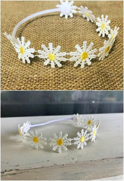 Gorgeous Daisy Chain Headband