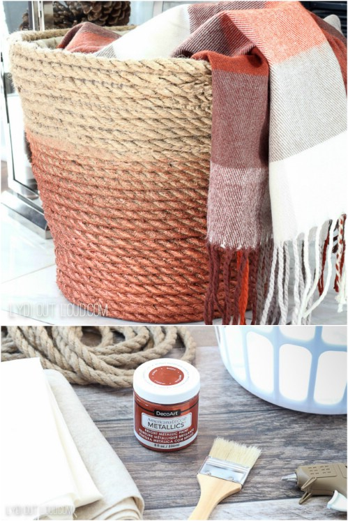 Cool DIY Laundry Hamper Ideas