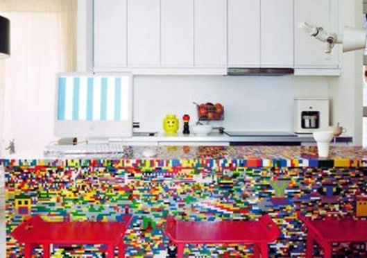 Amazing Lego Kitchen
