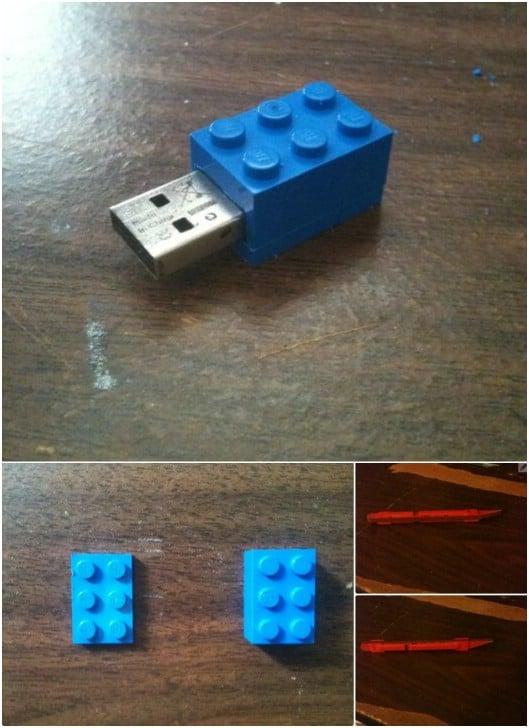 Fun DIY Lego USB Flash Drive