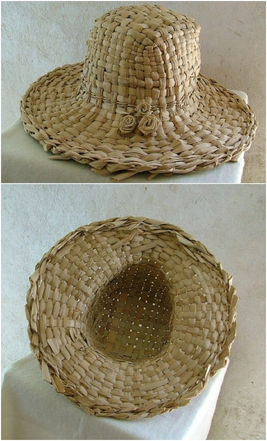Hand Woven Straw Hat