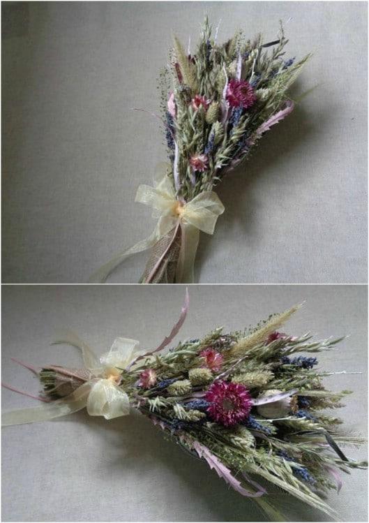 All Wildflower Bridal Bouquet