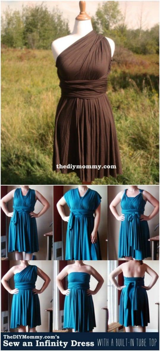 Easy Infinity Dress