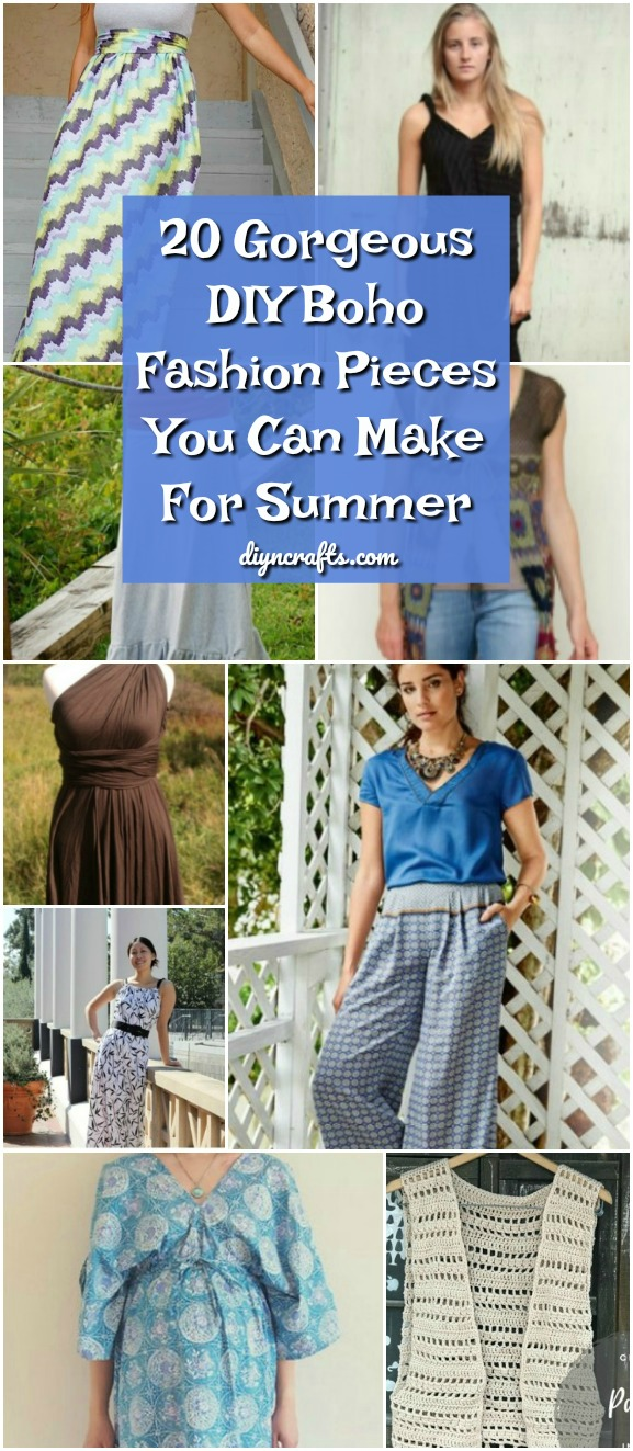 f23c31929db 20 Gorgeous DIY Boho Fashion Pieces You Can Make For Summer - DIY ...