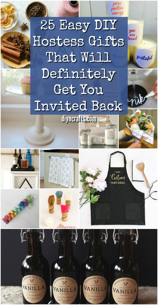 25 Easy DIY Hostess Gifts That Will Definitely Get You Invited Back