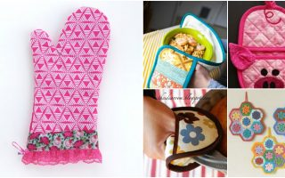 20 Easy DIY Pot Holders And Oven Mitts You Need In Your Kitchen – With Free Patterns