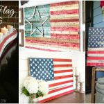 20 DIY Rustic Wood Fourth Of July Decor Ideas To Show Your Patriotic Pride