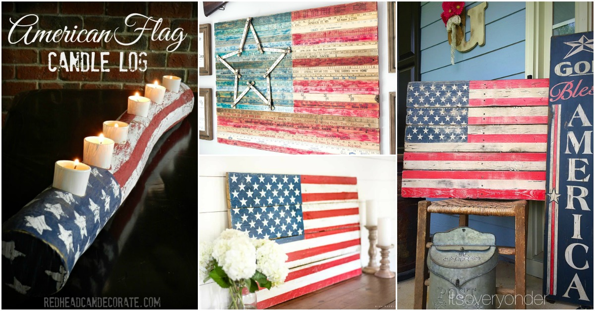 Th Of July Wood Crafts