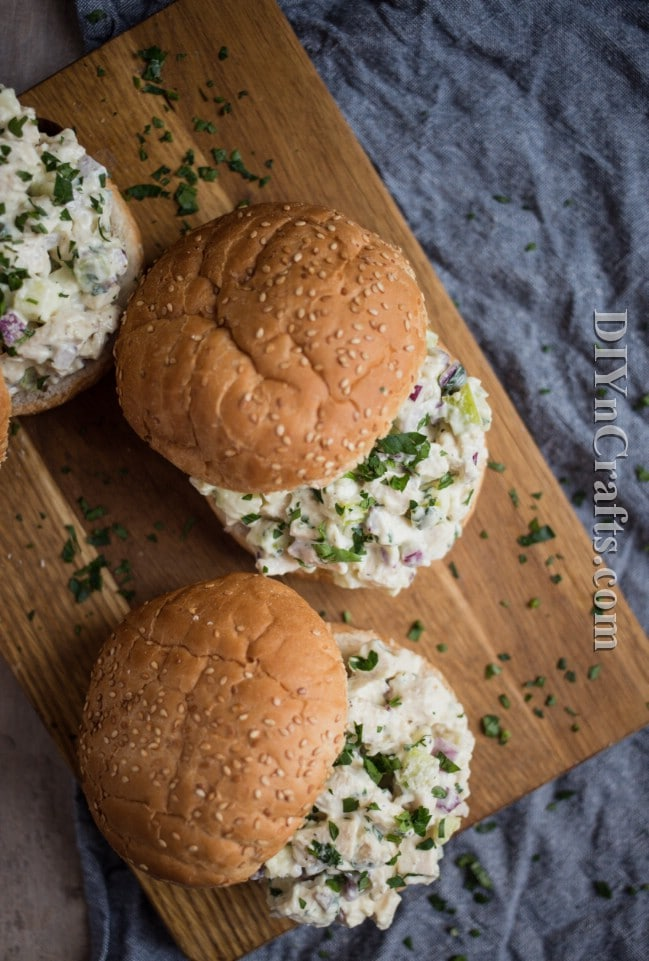 Serve on rolls, buns, with crackers or however you want