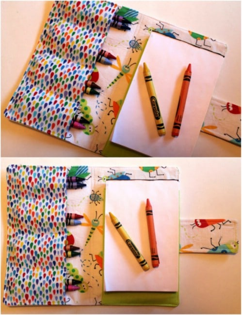 Simple DIY Crayon Keeper