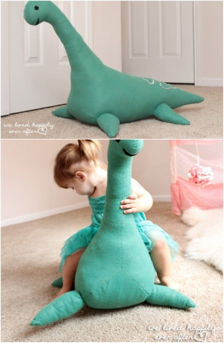 Huge DIY Loch Ness Monster