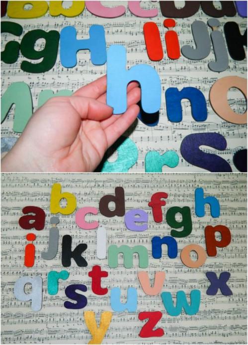 Adorable Alphabet Magnets