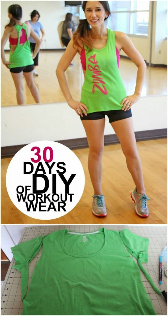 Forever 21 Inspired DIY Yoga Top