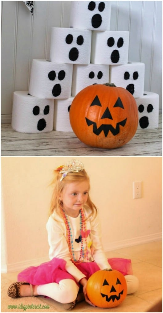 Fun DIY Pumpkin Bowling Game