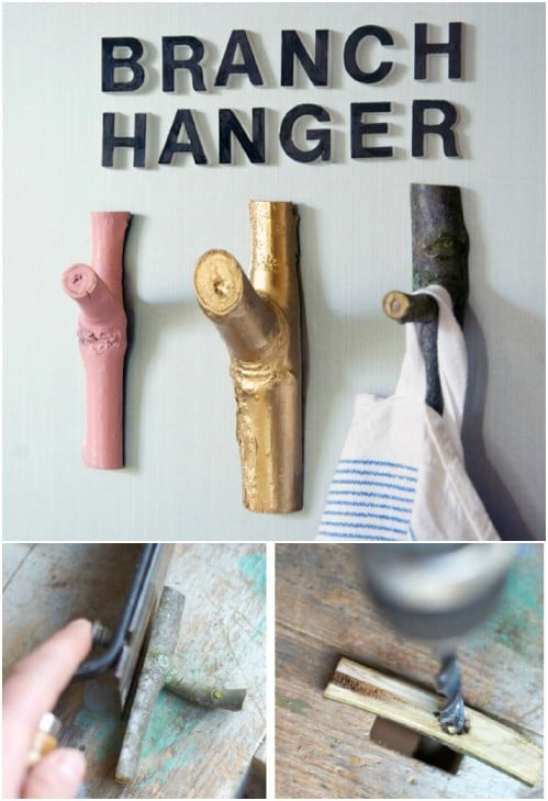 DIY Magnetic Refrigerator Branches