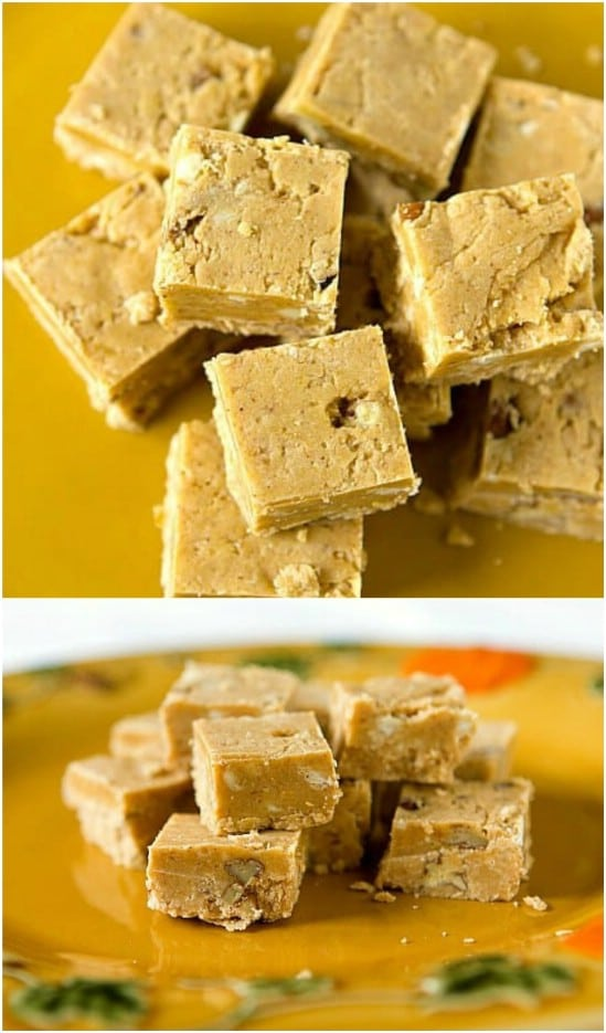 Homemade Pumpkin Fudge