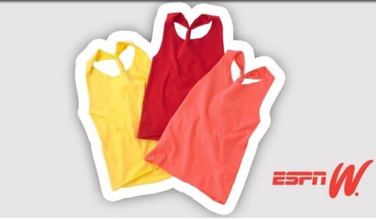 DIY No Sew Racerback Workout T-Shirt