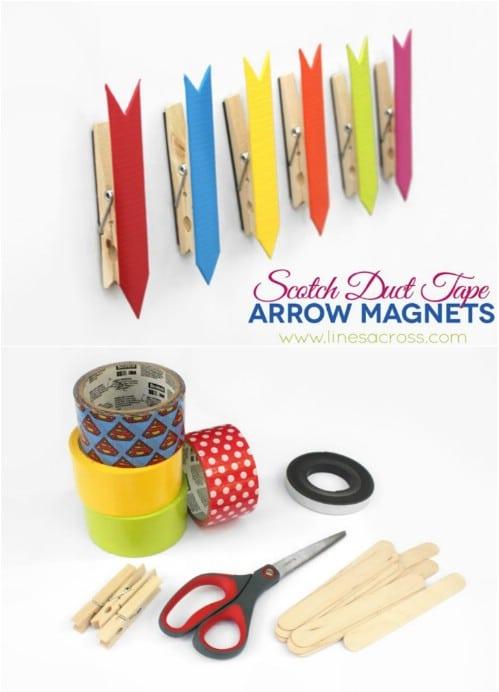 Easy DIY Arrow Clip Magnets