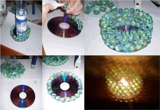 DIY Marble Candleholder