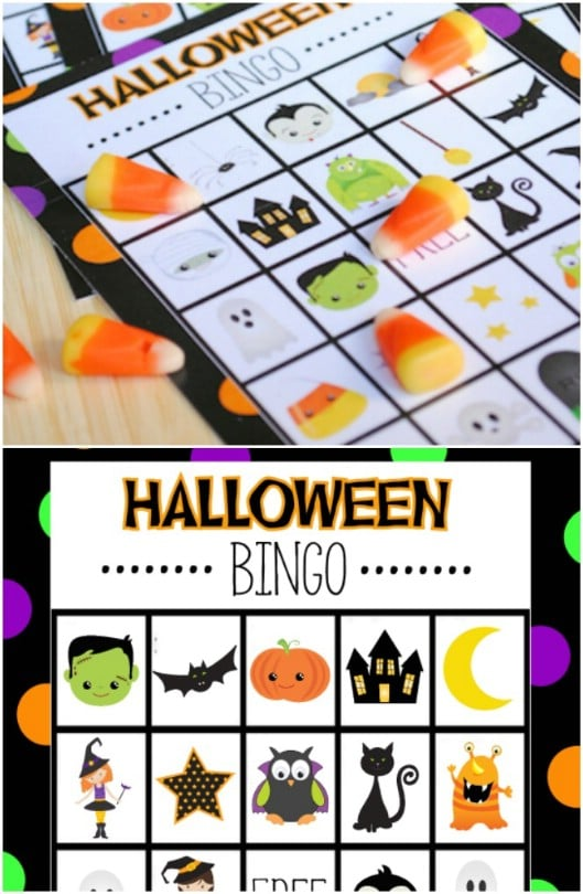 Super Fun Halloween Bingo