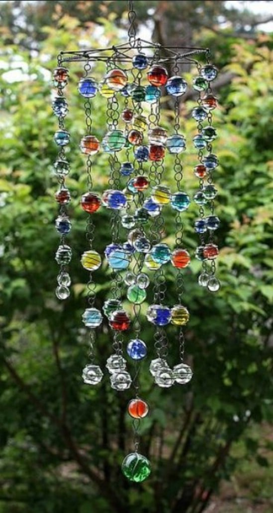 Lovely DIY Garden Mobile/Windchime