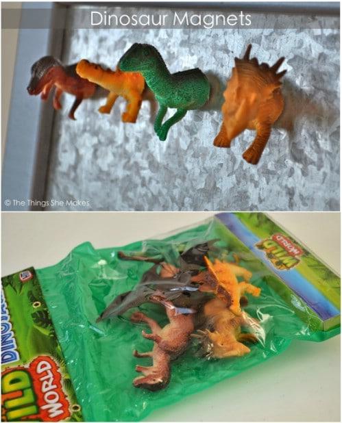 Fun DIY Dinosaur Magnets