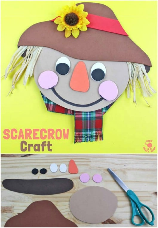 13  Fun DIY Scarecrow Crafts for Kids