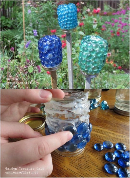 Cute DIY Garden Treasure Jars – Kids Project!