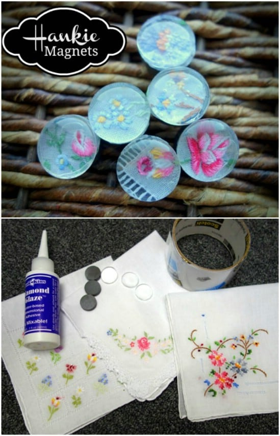DIY Glass Marble Magnets