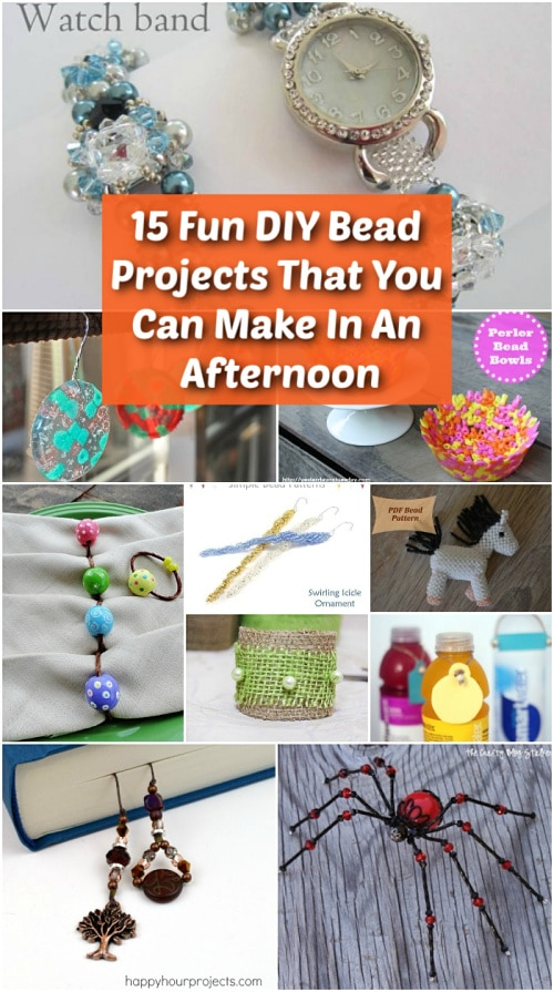 15 Fun DIY Bead Projects That You Can Make In An Afternoon ...