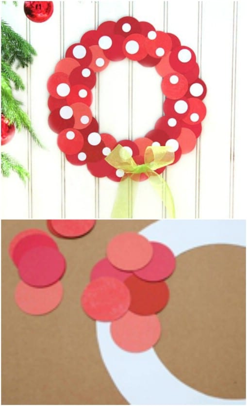 Super Easy Minnie Mouse Wreath