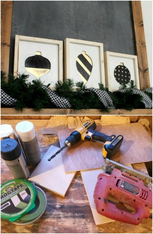 Scrap Wood Ornament Signs