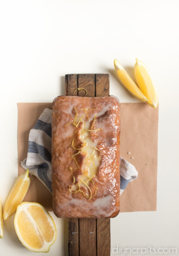 Heavenly Delicious Lemon Glazed Zucchini Bread Recipe