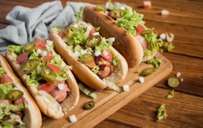 Bacon Wrapped Hot Dogs Recipe