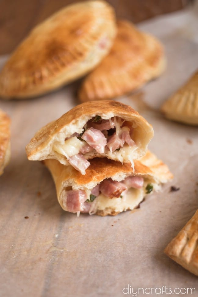Ham And Cheese Pockets Hot Pockets Mimic That S Better