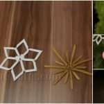 How to Make Pasta Snowflake Christmas Ornaments {Video Tutorial}