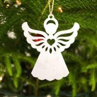 Angel Metal Animal Ornament