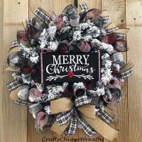Rustic Christmas Wreath