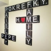 Scrabble Tiles for Wall Art Decorations