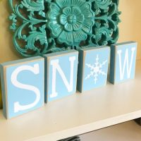 Snow Blocks - Winter Decor