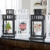 Personalized Christmas Lanterns
