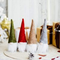 Set of 4 Christmas Gnomes