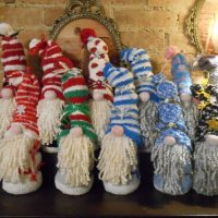 Christmas sock Gnomes