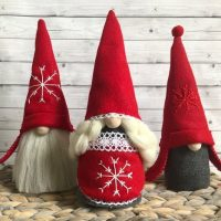 Christmas Gnomes Family