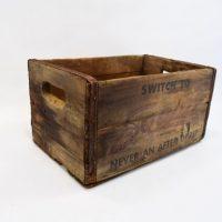 Wood Box, Storage Box, Advertising Box, Squirt