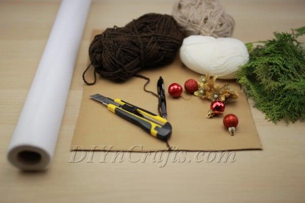 Wreath materials:
