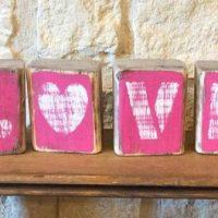 LOVE Valentine's Day Decor