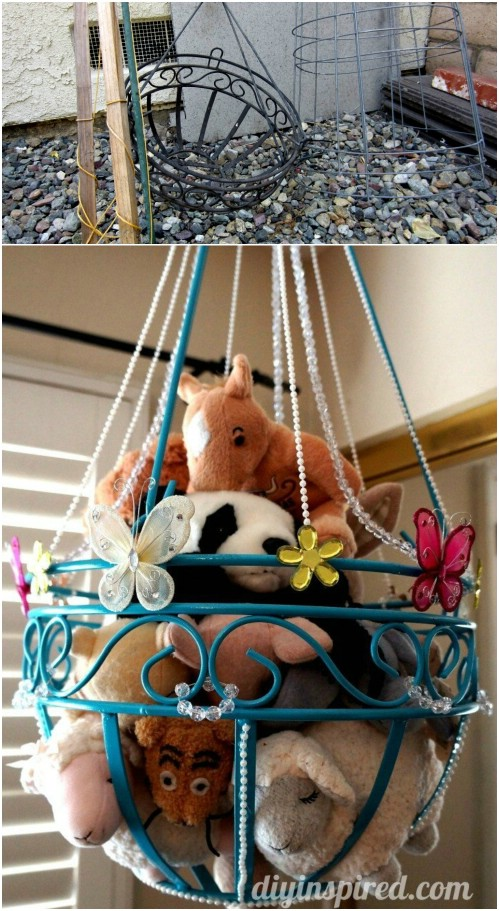 13 Genius DIY Stuffed Animal Storage Ideas