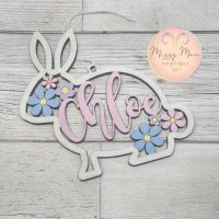 Personalised Easter Bunny Decoration