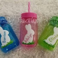 Personalized Easter Cup with lid and straw